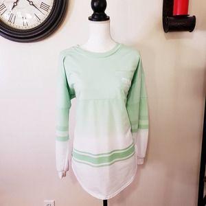 Justify Oversized Medium Long Sleeve Tee Shirt